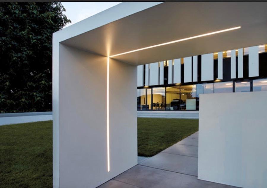 Simes, illuminazione per esterni a LED