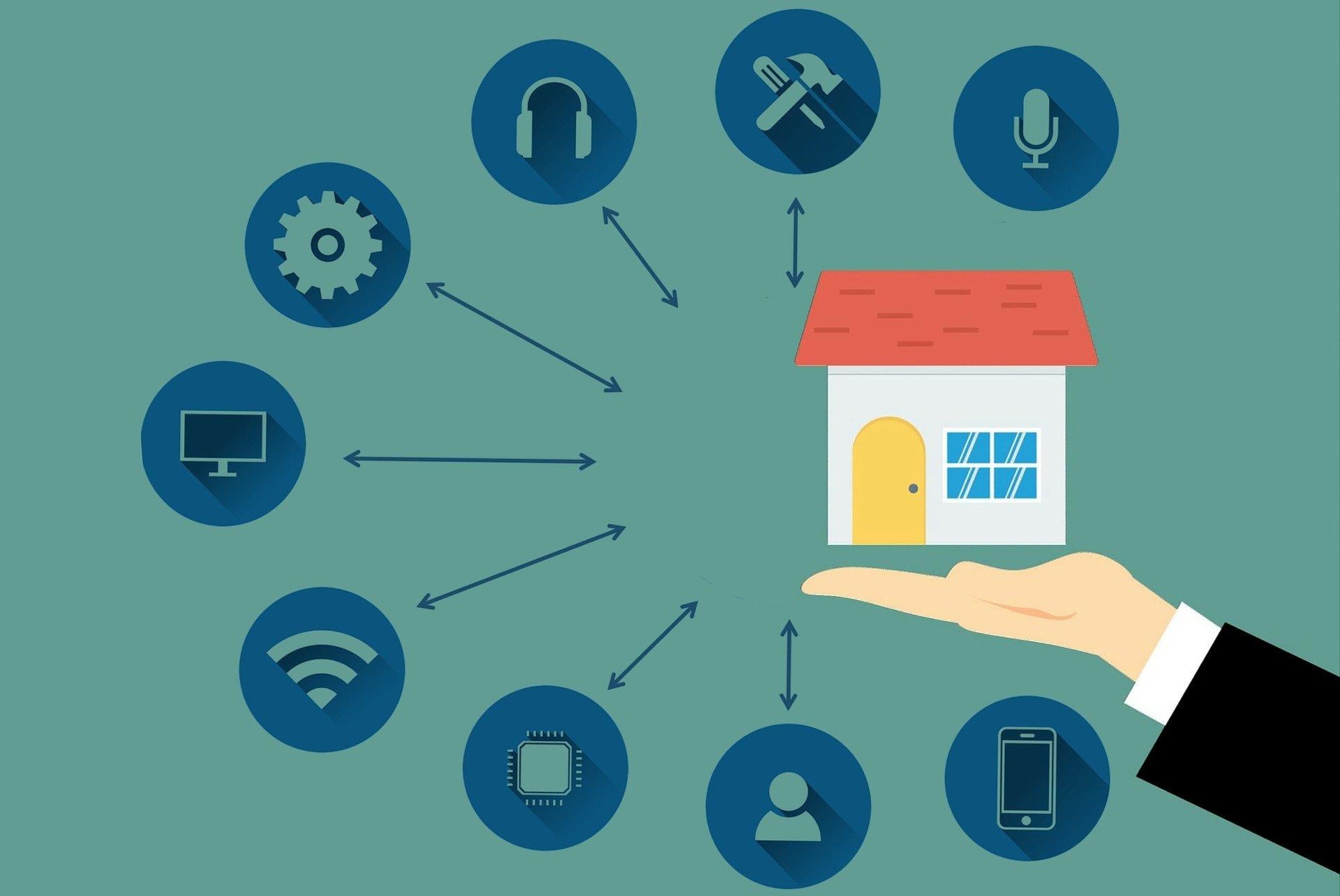 La casa connessa consente di tenere sotto controllo gli impianti