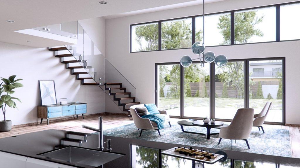Maggiore superficie vetrata per illuminare al meglio con la finestra Prolux