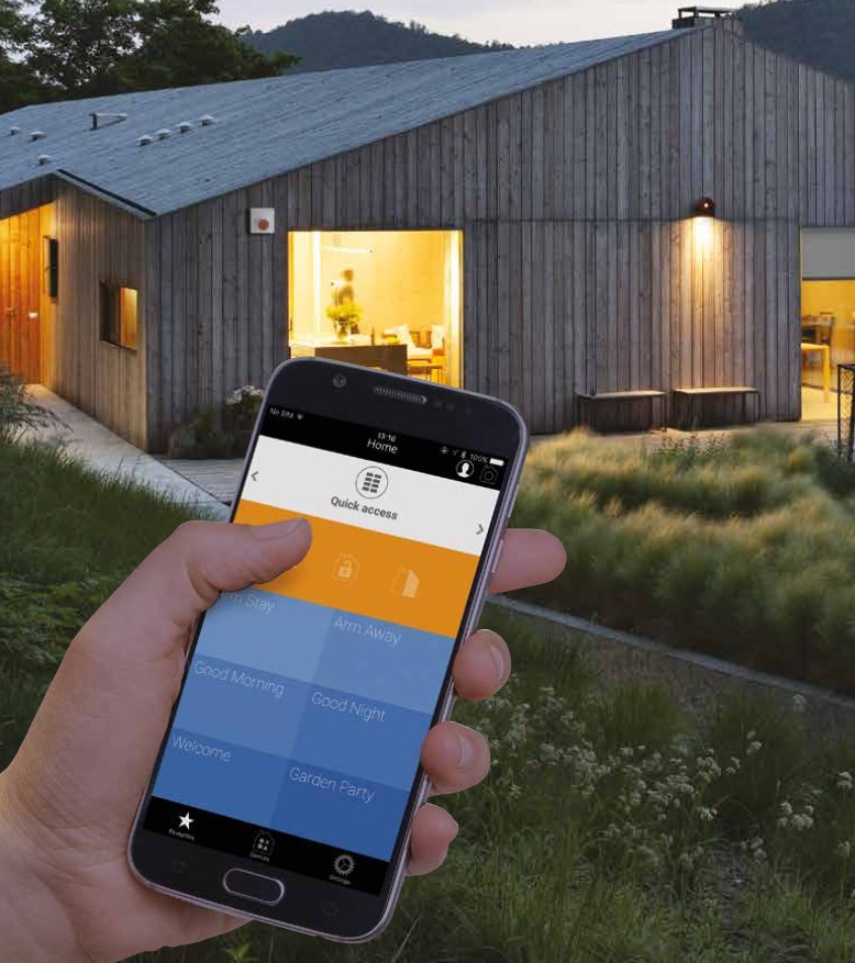 Con la app MyNice World è possibile gestire la casa anche a distanza