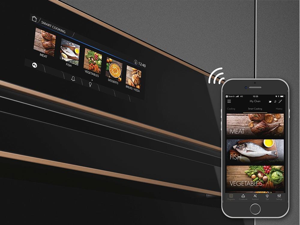 Con il display VIVOscreen cucinare è più facile