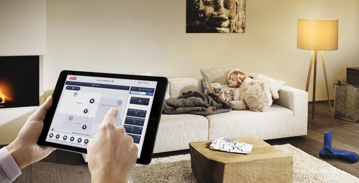 La home automation ABB consente di rendere la casa intelligente