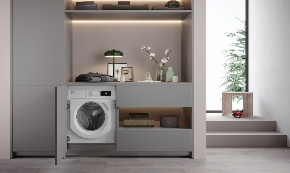 la nuova lavatrice Natis di Hotpoint