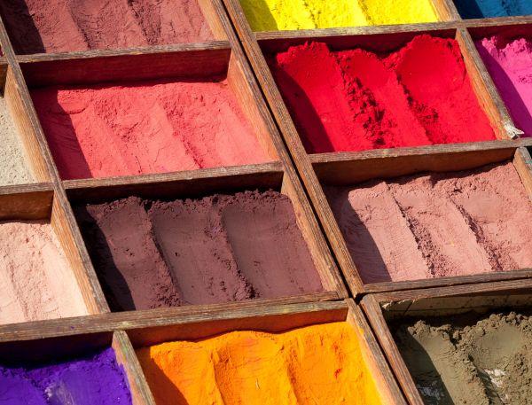 Pigmenti naturali per vernici ecologiche