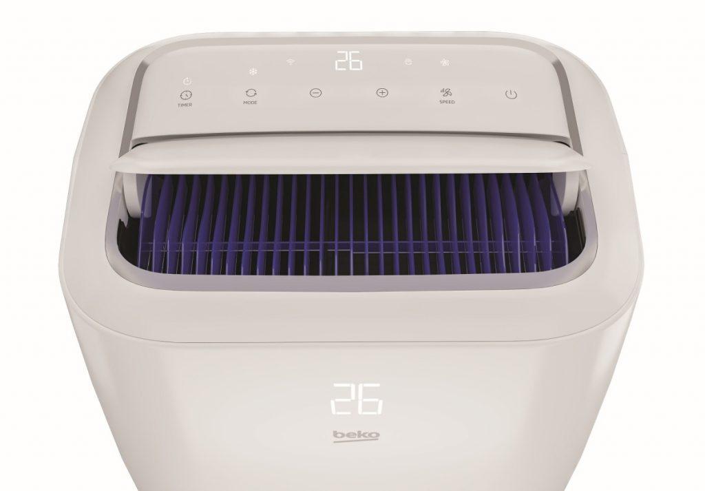 Creare il comfort ottimale con il climatizzatore portatile BP113H di Beko
