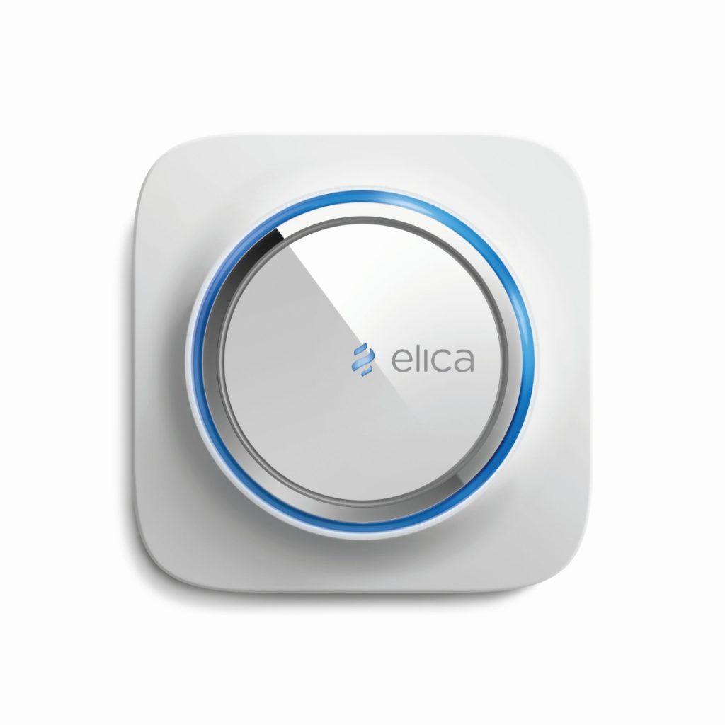 Elica propone Snap, l'Air Quality Balancer, un sistema di aspirazione che monitora la qualità dell'aria