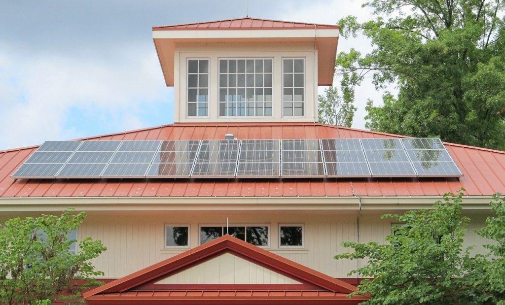 produrre energia pon l'impianto fotovoltaico