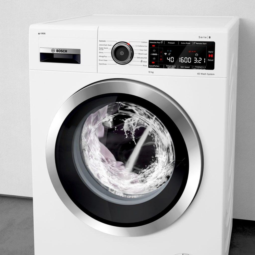 La lavatrice bosch è dotata della funzione per togliere 16 macchie