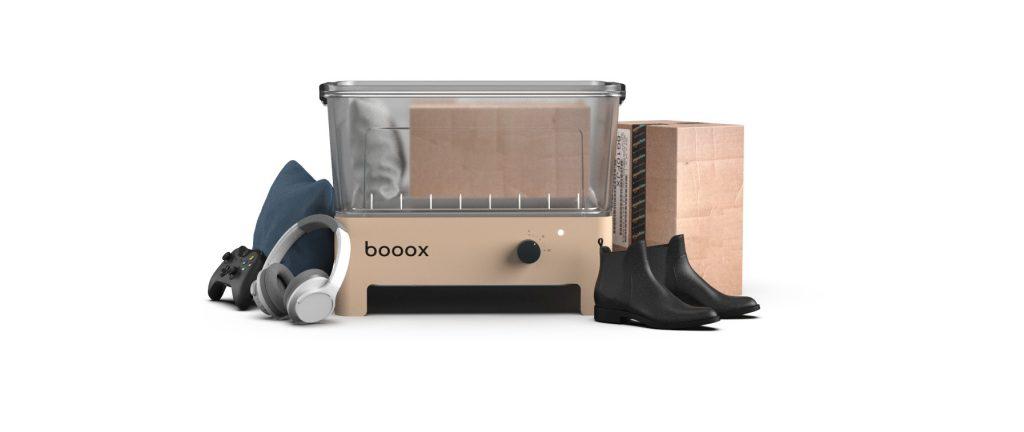Il sanificatore domestico ad ozono BoooX elimina germi e batteri da spesa e oggetti