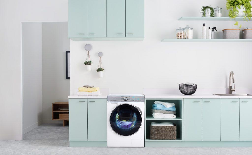 Sanificare il bucato con vapore e aria calda con Samsung