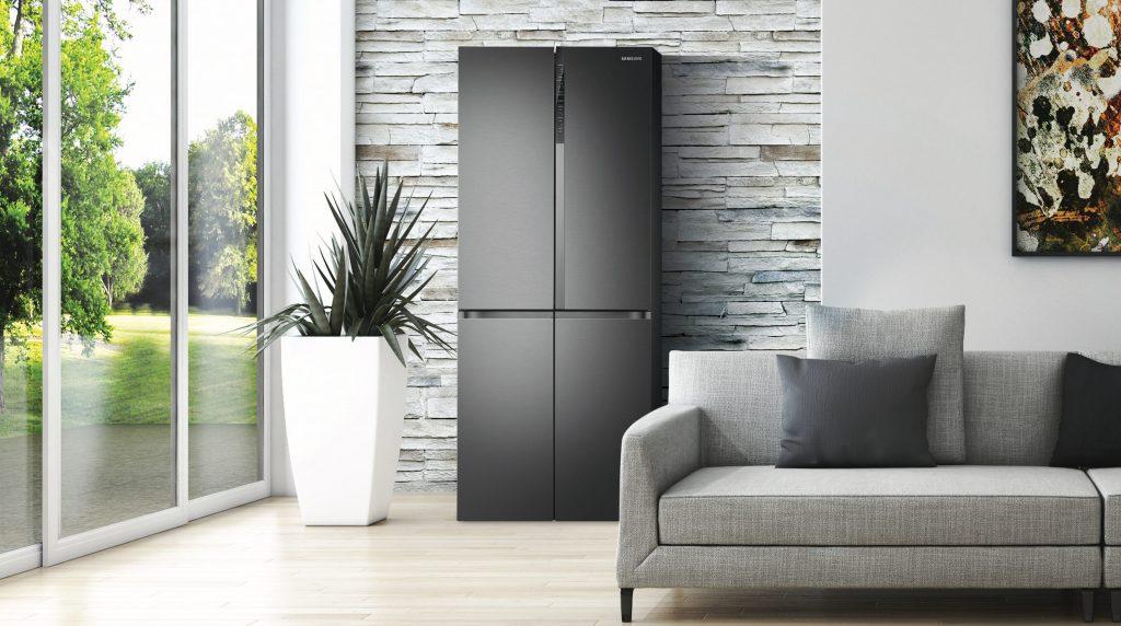 Tra le soluzioni per una casa igienizzata, Il frigorifero Samsung è dotato di filtro antibatteri