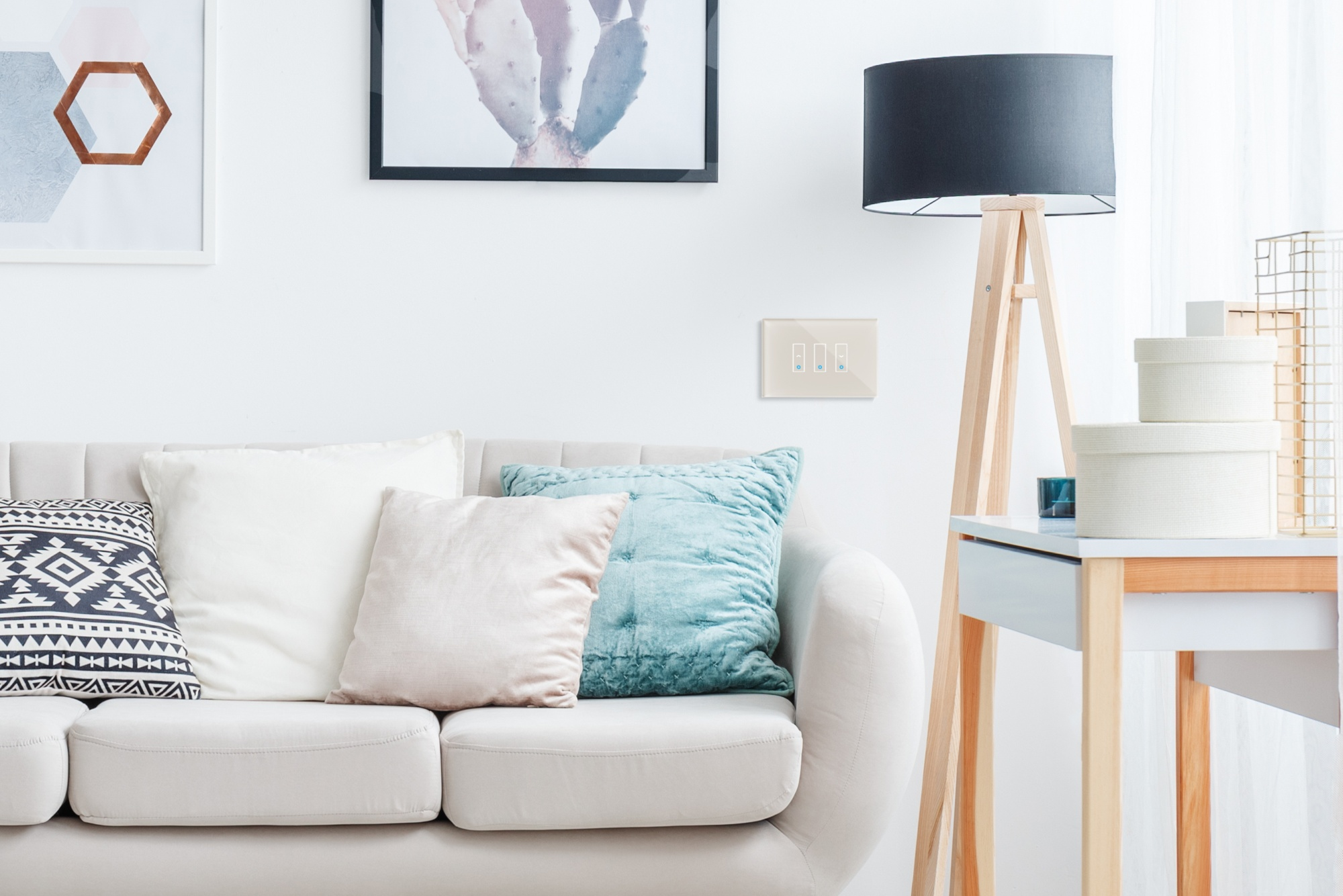 iotty è un interruttore intelligente per luci, tende e tapparelle