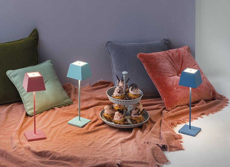 nuove colarazioni per le lampade outdoor Siesta di Rossini Illuminazione