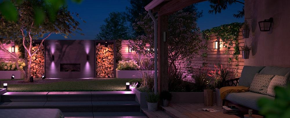 giardini smart con Philips Hue