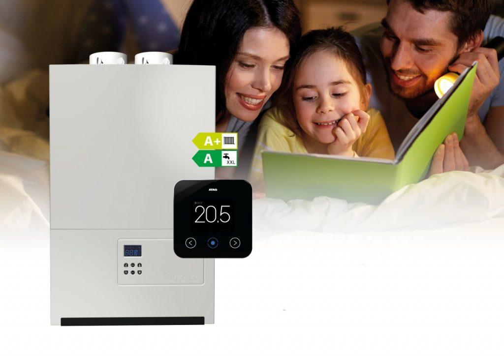 La caldaia a condensazione murale ideale per la smart home