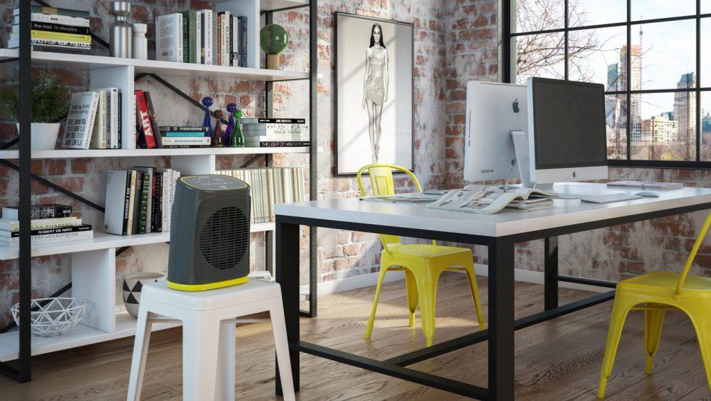 Estetica, multifunzionalità e sicurezza con i termoventilatori colorati