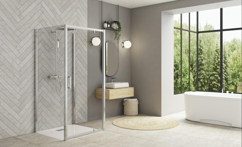 box doccia della serie Smart Design