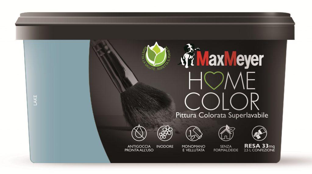 tocco di colore con la pittura Home color