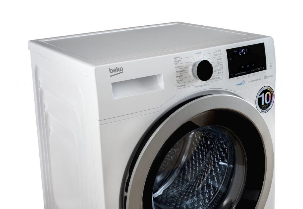 Igiene a tutto vapore per le lavatrici Beko