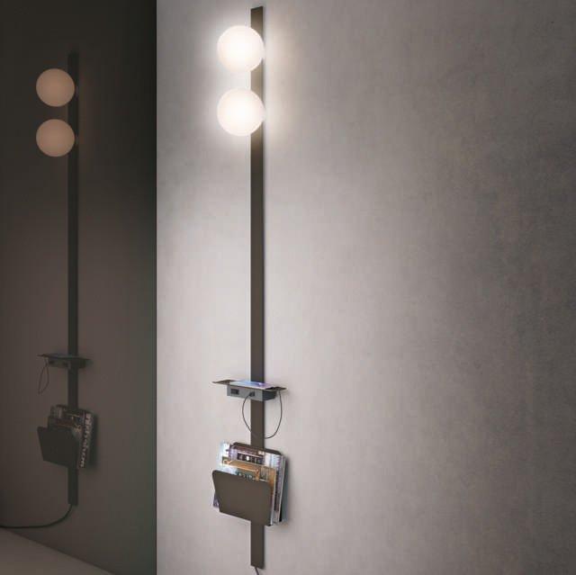 La lampada a parete Alfred