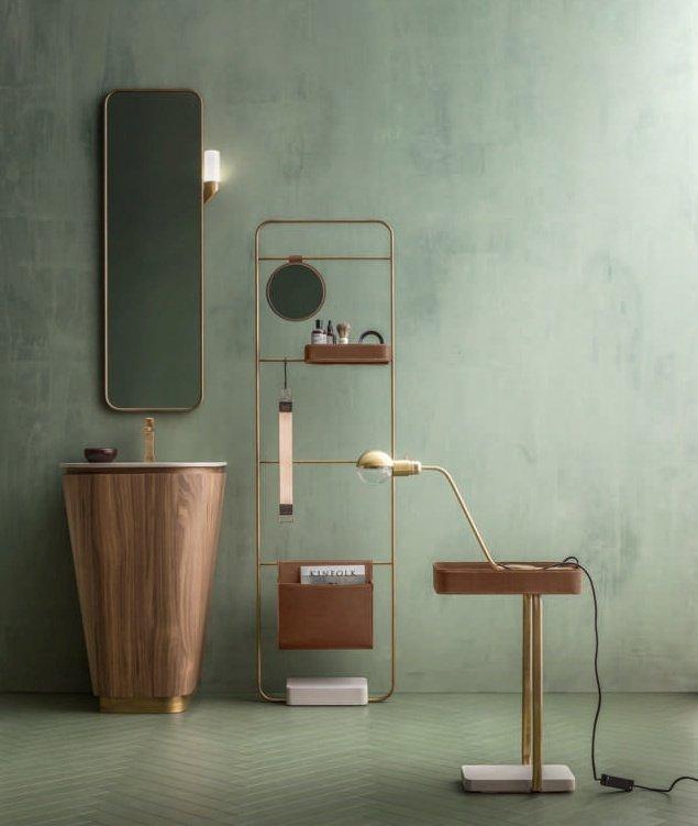Cerasa Suede lavabo conica: soluzione bagno piccolo per ospiti
