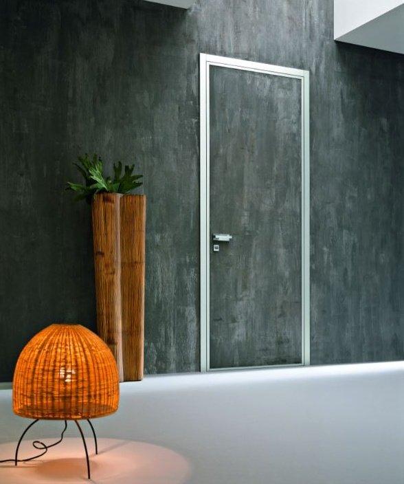 porta blindata Monolite effetto muro