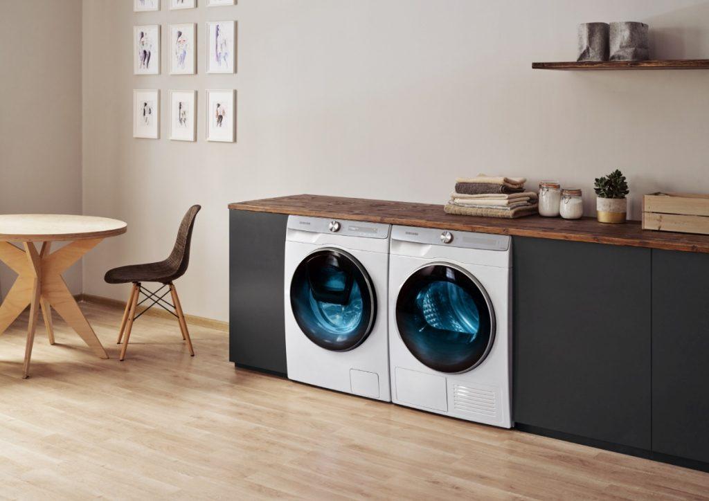 Elettrodomestici smart: lavatrice e asciugatrice Samsung