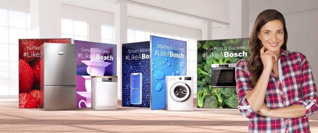 Casa smart con gli elettrodomestici connessi di Bosch