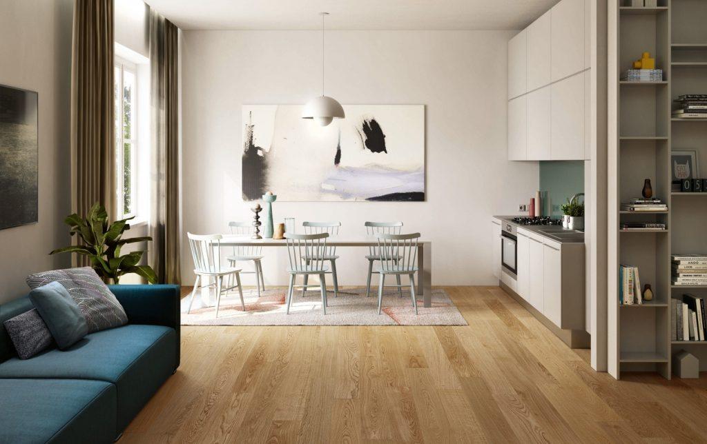 Parquet di soli 10 millimetri per rinnovare il pavimento di casa