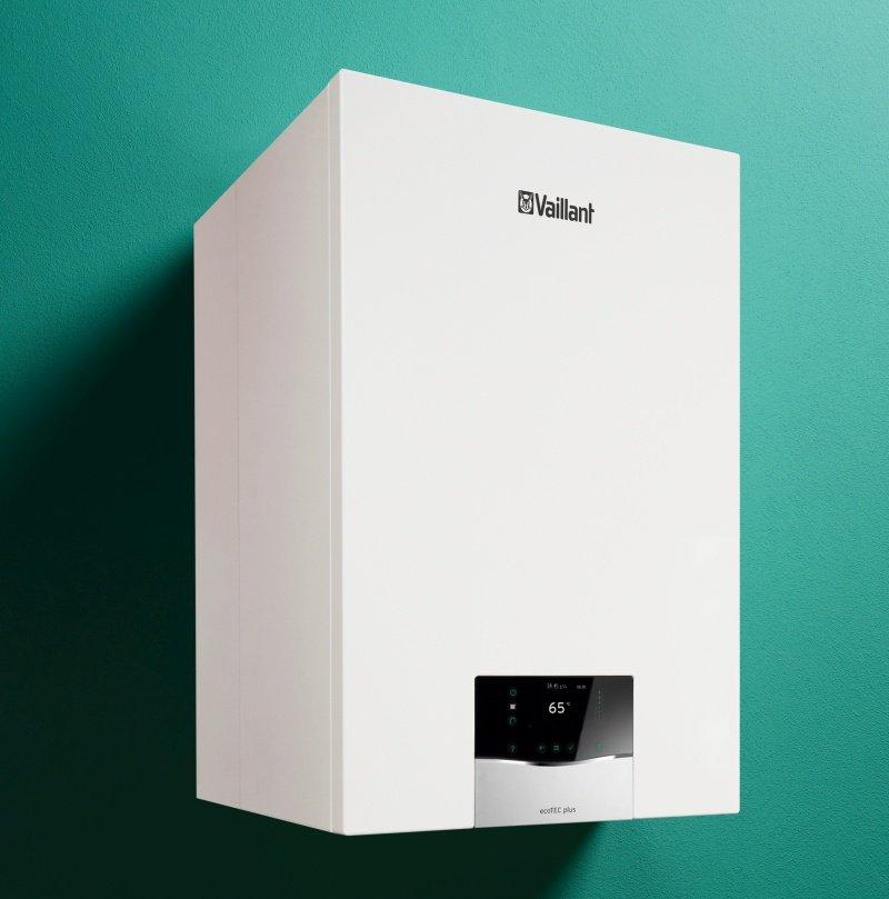 Caldaia a condensazione Ecotec plus di Vaillant