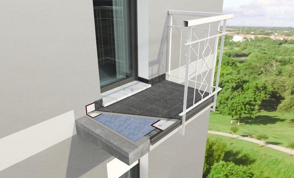 Ristrutturare il balcone è facile e sicuro