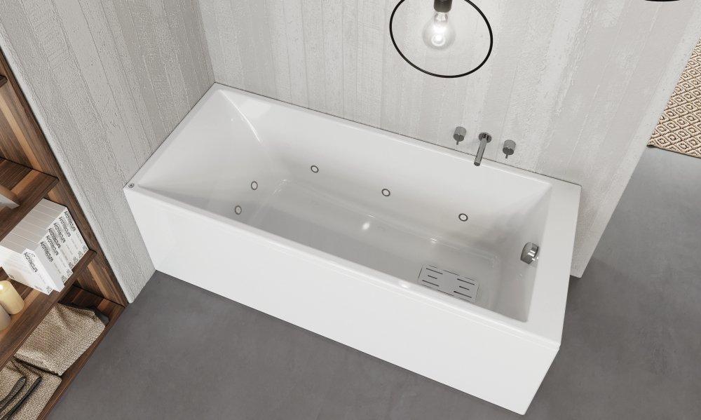 vasca da bagno Slim Edge rettangolare
