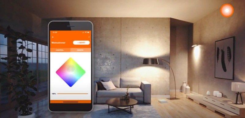 Comandare la luce tramite la App Ledvance