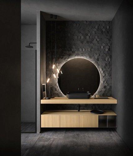Specchio collezione NeroLab