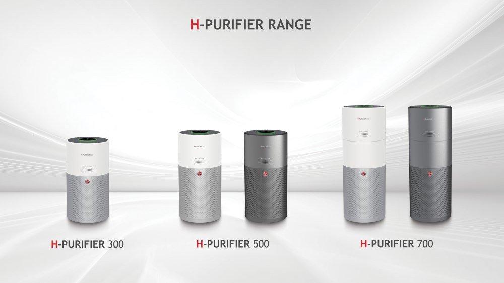 gamma completa di purificatori d'aria H-Purifier