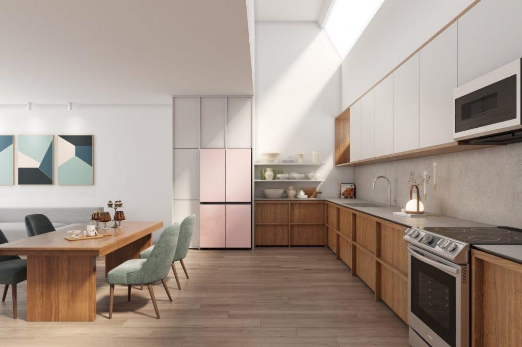 Personalizzare la cucina con i Frigoriferi Bespoke