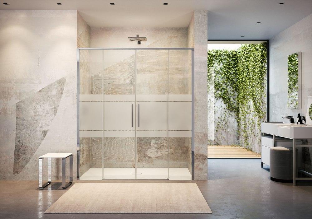 Innovativo sistema di montaggio per le cabine doccia Toga