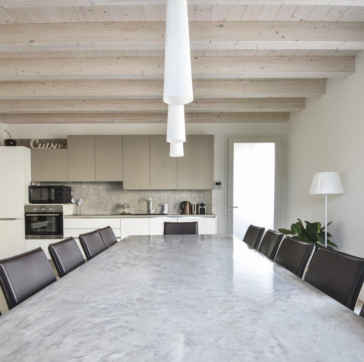 cemento creativo eco-friendly per tavolo e parete