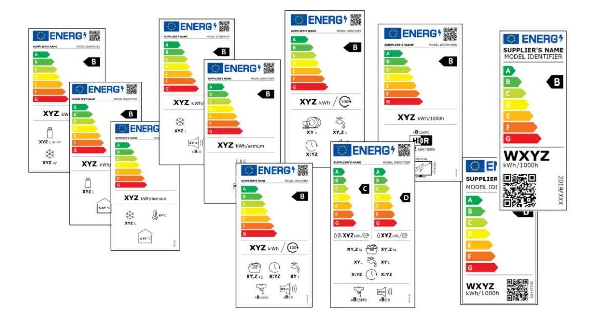 nuove etichette energetiche 2021 per gli elettrodomestici