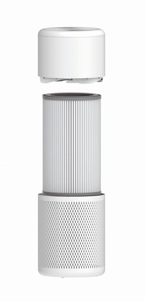 Purificatore d'aria Beko ATP5100I aperto