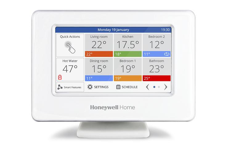 Smart Zoning di Honeywell Home evohome