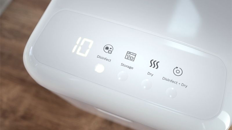 display digitale che offre un controllo intuitivo