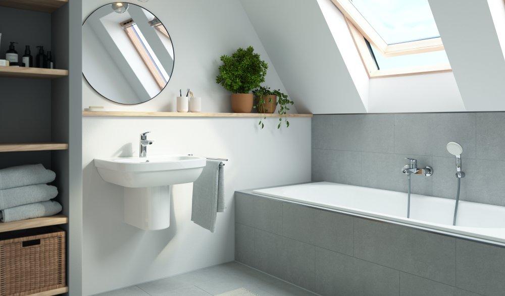 La rinnovata rubinetteria GROHE Eurosmart combina design, facilità di utilizzo e di installazione