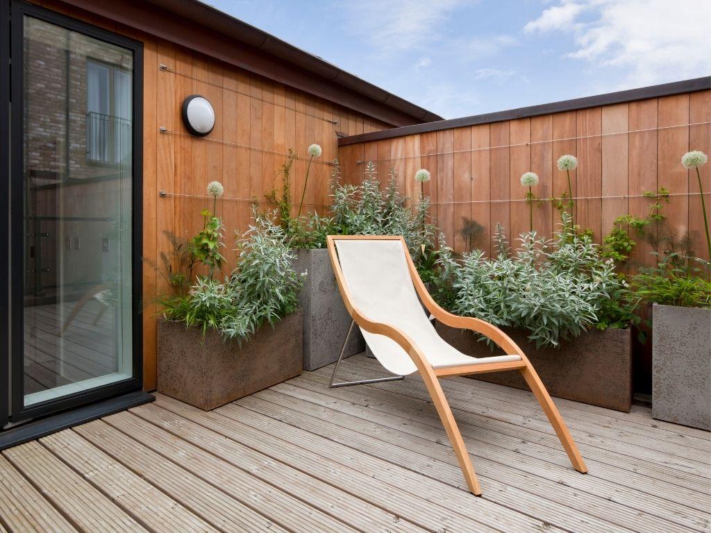 arredare il terrazzo con piante