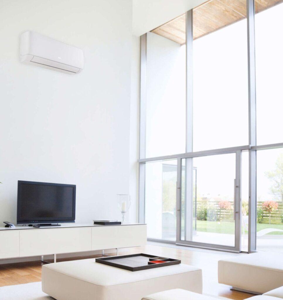 Climatizzatori a gas R32 che uniscono design e gestione del comfort