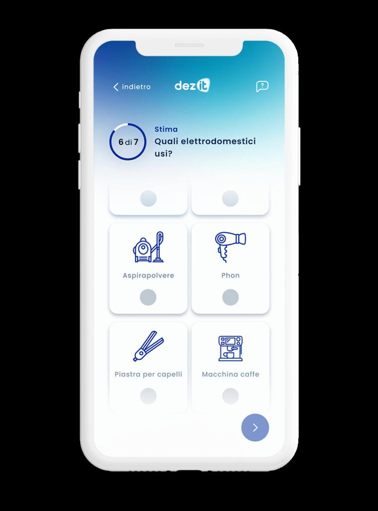 App dez it e monitoraggio consumi