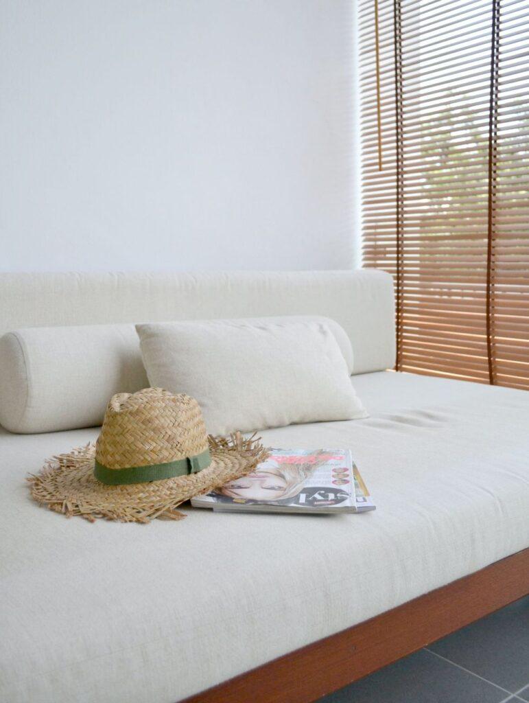Esempio di divano letto