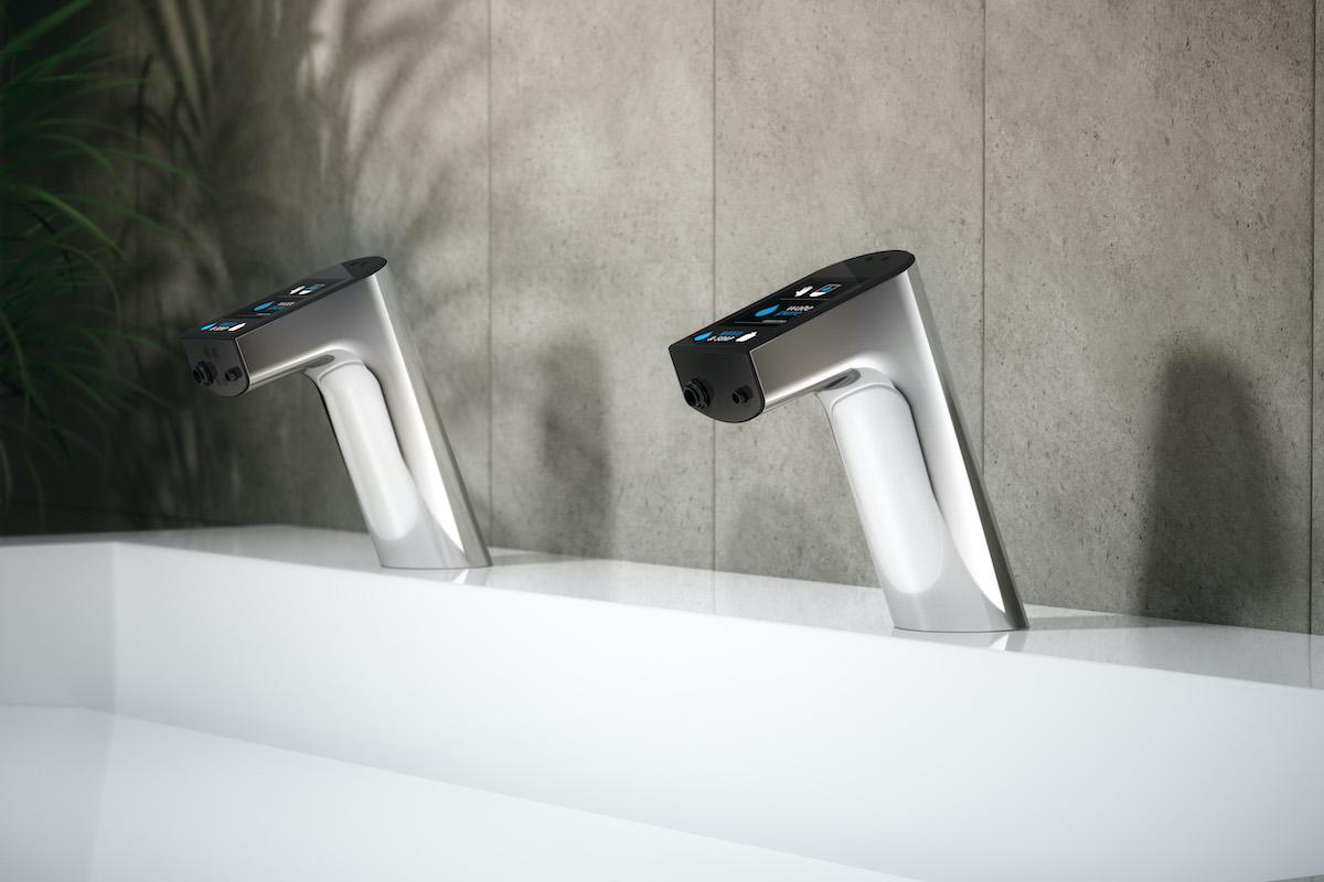 Miscelatori touch-free: Intellimix integra l'erogazione di acqua e sapone