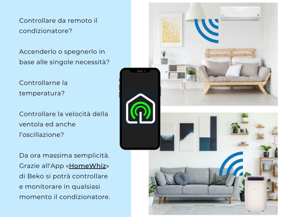 controllo App HomeWhiz