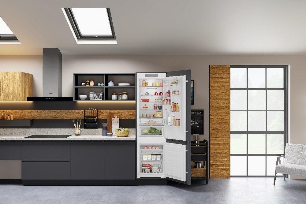 Conservazione ottimale dei cibi con i frigoriferi combinati Total No Frost